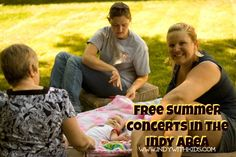 Free Summer Concerts in the Indianapolis Area | Indy with Kids | http://www.indywithkids.com/2013/04/free-indy-area-summer-concerts/