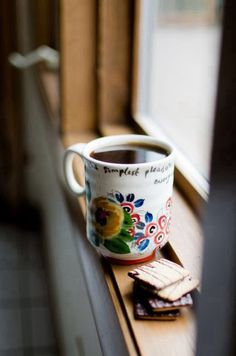 Start your day with a good cup of coffee...