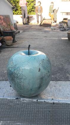 Pomme Terre cuite émaillée cuisson Raku