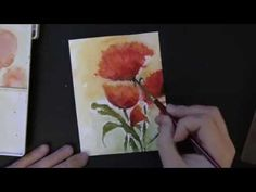 Visit our blog for a VIDEO tutorial demonstrating how you can achieve this look with Penny Black brushstroke stamps
