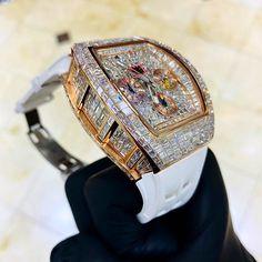 Fancy Watches, Luxury Watches, Watches For Men, Diamond Grillz, Rapper Jewelry, Urban Jewelry, Hublot Watches, Richard Mille, Diamond Supply