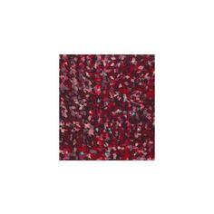 Simply Silky Prints- Mini Geo Black Red Peachskin found on Polyvore