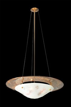 """31 Inch W Metro Fusion Super Nova Inverted Pendant - 31 Inch W Metro Fusion Super Nova Inverted Pendant Theme: ART GLASS CONTEMPORARY Product Family: Metro Fusion Super Nova Product Type: CEILING FIXTURE Product Application: CEILING FIXTURES Color: CLEAR NOODLES TRANSPARENT COPPER Bulb Type: MED Bulb Quantity: 3 Bulb Wattage: 100 Product Dimensions: 55""""H x 31""""WPackage Dimensions: NABoxed Weight: lbsDim Weight: 171 lbsOversized Shipping Reference: NAIMPORTANT NOTE: Every Meyda Tiffany item is…"""