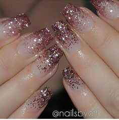 Top Awesome Coffin Nails Design 2019 You Must Try Awesome coffin nails are the hottest nails now. We collected of the most popular coffin nails. So, you don't have to spend too much energy. It's easy to find your favorite coffin nail design. Gorgeous Nails, Pretty Nails, Nail Art Designs 2016, Nails Now, Nagel Blog, Cute Acrylic Nails, Glitter Tip Nails, Rose Gold Nails, Nail Designs With Glitter