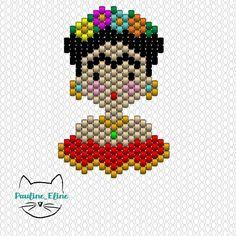 Encore merci pour l'accueil fait à ma Frida, vous êtes trop gentils! Comme d'habitude, le petit diagramme. Amusez vous bien! #jenfiledesperlesetjassume #