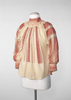 The Romanian Blouse at @Metropolitan Museum of Art, New York Costume Institute