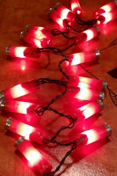 Shotgun Shell lights! Shouldn't everyone in Tennessee have these? Maybe wedding decorations LOL