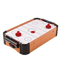 This Mini Tabletop Air Hockey Game by GLD Products is perfect! #zulilyfinds