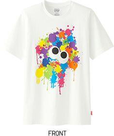 89773b081 FRONT White Tee Shirts, Uniqlo Men, Nerdy Shirts, T Shirt Company, Geek