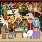 nativity scrap kit  Image 1