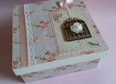 Image result for caixas decoradas