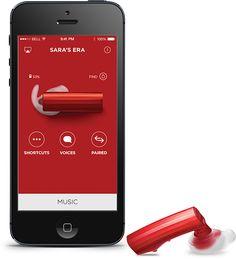 Con la Aplicación de Jawbone podrás personalizar tu ERA y programar el acceso fácil a Siri o Google Now para control de manos libres. Además cuenta con un localizador incorporado que asegura que nunca pierdas tu ERA