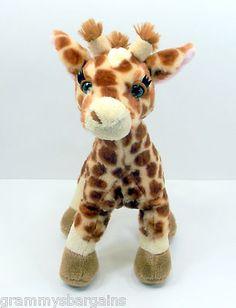 "SOLD!!!! Ganz Webkinz Giraffe Stuffed Plush Animal Toy 12"" HM403 NO CODE on eBay"