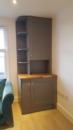Bespoke design for boiler and washing machine cabinet Utility Storage Cabinet, Utility Cupboard, Boiler Cover Ideas, Bathroom Interior, Kitchen Interior, Anderson Furniture, Small Utility Room, Washing Machine In Kitchen, Kitchen Storage Solutions