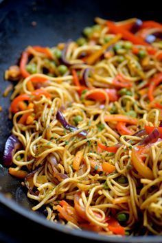 Thai Recipes, Asian Recipes, Vegetarian Recipes, Healthy Recipes, Recipes Dinner, Cooking Recipes, Batch Cooking, Chinese Food, Food Inspiration