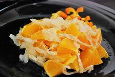 Receta de Ensalada de bacalao y naranja - Fácil