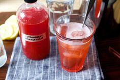 strawberry rhubarb soda syrup – smitten kitchen