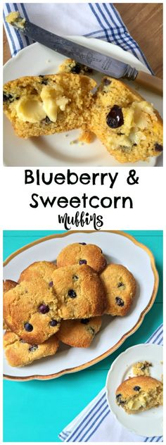 A delicious twist on classic blueberry muffins.... these Blueberry and Sweetcorn…