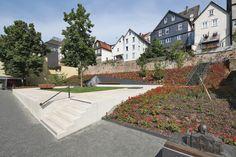 Vintage Garten des Gedenkens Marburg Germany by scape Landschaftsarchitekten