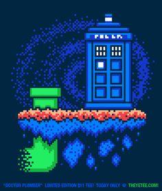 drewpixel:  Doctor Plumber!byDrew Wise Design&jimiyo$11 on 10/23 atThe Yetee