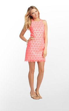 Pearl Dress in Fiesta Pink Pinwheel Organza $348 (w/o 2/9/13) #lillypulitzer #fashion #style