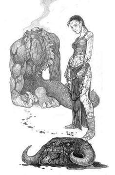 Renna & a demon