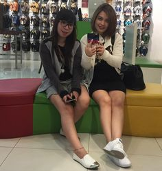 """No we are not tired we just love mirror. Too much!  #Asian #AsianGirls #Cousins #LongWeekend #iPhone6plus #iPhone6plusCamera #JakartaLife #Jakarta #25March2016 by beautyndah Follow """"DIY iPhone 6/ 6S Plus Cases/ Covers/ Sleeves"""" board on @cutephonecases http://ift.tt/1kAxdjF to see more ways to how to custom your text add #Photography #Photographer #Photo #Photos #Picture #Pictures #Camera #Only #Pic #Pics to #iPhone6SPlus Case/ Cover/ Sleeve"""