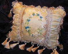 Ringbearer Pillow Initial C | Flickr - Photo Sharing!