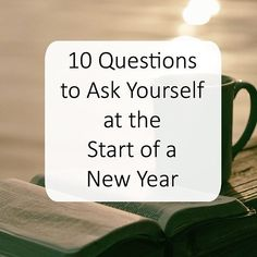 """So many times we can go about our day and not take the time to """"consider our ways"""" (Haggai 1:5). Donald Whitney has shared 10 Questions to help you to pause and ponder the direction your life is going. These are great questions to print out and tuck in yo"""