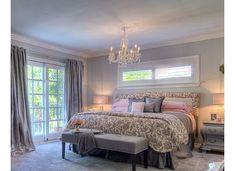 long horizontal windows above king bed - Google Search