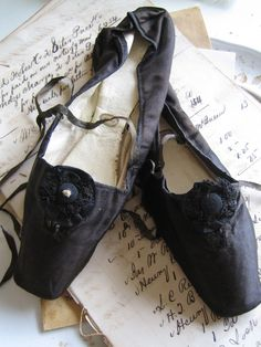 Black Ballet Slippers