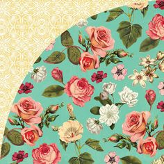 BasicGrey - Tea Garden Collection - 12 x 12 Double Sided Paper - Rose Hip at Scrapbook.com