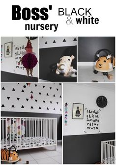Boss' Black and White Nursery