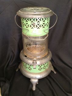 Vintage Perfection Kerosene Oil Heater 1686 with Pyrex Glass Insert | eBay
