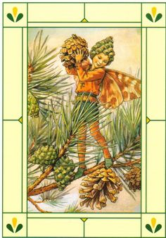 Pine Tree Fairy by Cicely Mary Barker