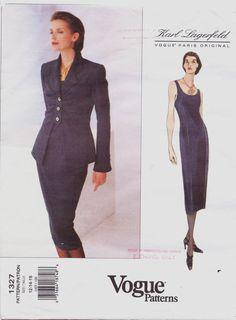 90s Karl Lagerfeld Vogue Paris Original Pattern by CloesCloset, $25.00