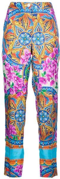 DOLCE & GABBANA Patterned Trouser - Lyst