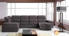 Rohová rozkládací sedací souprava Bono 1   MT-nábytek #sofa #divan #settee #couch