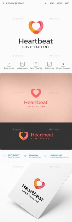 Heart Beat — Vector EPS #health #hospital • Available here → https://graphicriver.net/item/heart-beat/10755767?ref=pxcr