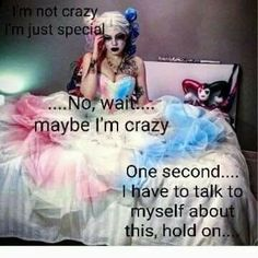 Quotes: Harley Quinn: The Difference Between Birds of Prey and Joker Hero Quotes, Bitch Quotes, Joker Quotes, Badass Quotes, Funny Quotes, Sarcastic Quotes, Joker Und Harley Quinn, Harly Quinn Quotes, Hearly Quinn