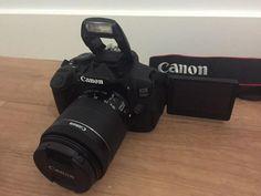 Canon 700D DSLR + 2 Lenses