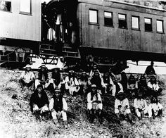 Band of Apache Indian prisoners by Marion Doss, via Flickr