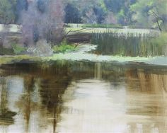 """Daily+Paintworks+-+""""Cook+Hope+Reflections""""+-+Original+Fine+Art+for+Sale+-+©+Beth+Bathe"""