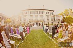 grosse point war memorial fall wedding photos | Grosse Pointe War Memorial Wedding – Heather & Michael