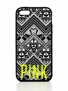 VS PINK Soft iPhone® 4/4S/5 Case in Aztec I always need a form of communication, so yes my iphone 5 and VS Pink case are tossed into my Retro-Metro Fold Over
