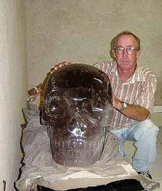 Largest crystal skull -  Brazilian Smoky Quartz