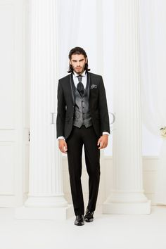 BA 1-16 #sposo #groom #suit #abito #wedding #matrimonio #nozze #nero #black