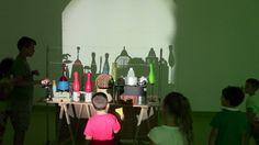 Family Day Lab Shadow Art