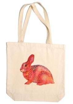 Brilliant Bunny Handmade Tote
