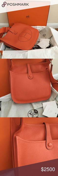 abdb5f171bb 100% Authentic Hermes Evelyn III 100% Authentic
